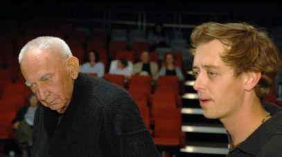 Gustaw Holoubek i Jan Holoubek (fot. Jan Bogacz, TVP)