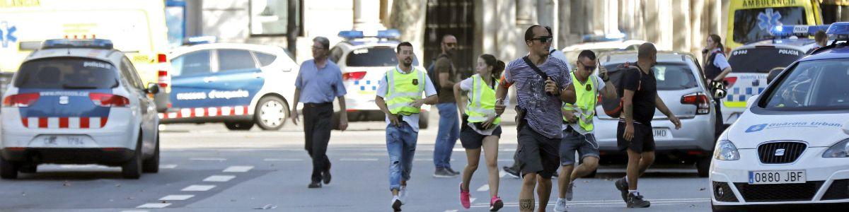 Seria zamachów w Katalonii