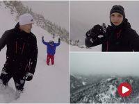 Śniegu po pas. Wojownicy ruszyli w góry [wideo]