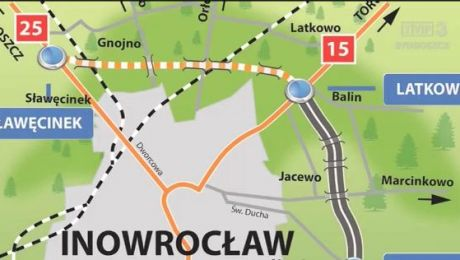 Mija rok od otwarcia obwodnicy Inowrocławia