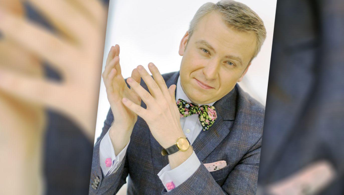 Adam Jarczyński (fot. materiały prasowe Znak)