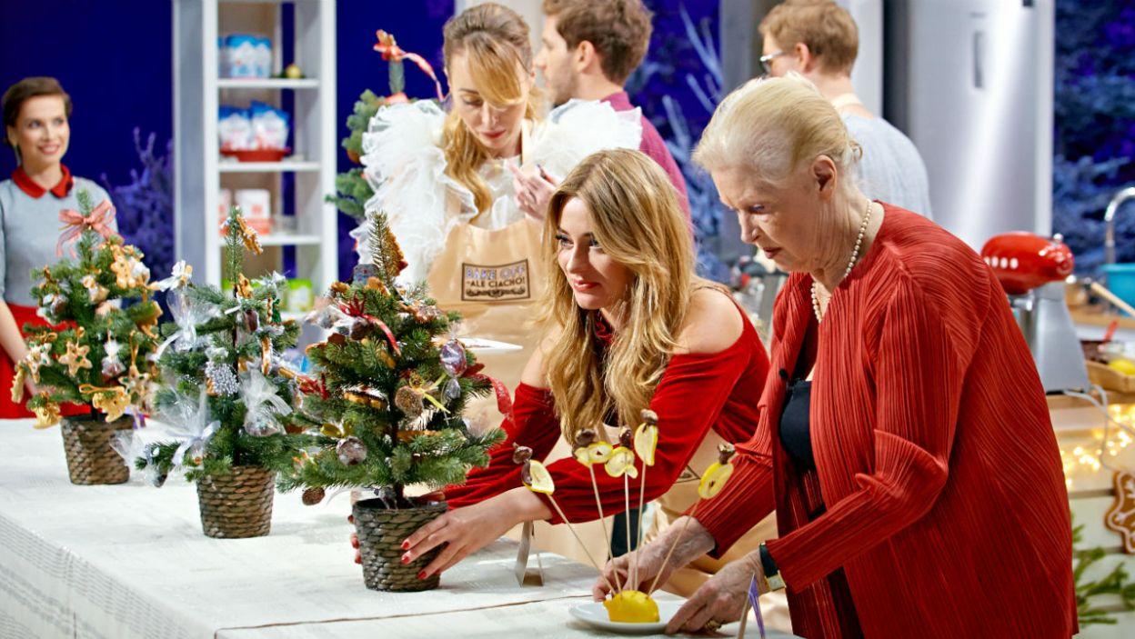 Konkurencja techniczna obejmowała wykonanie pierniczków i śliwek w czekoladzie (fot. TVP)