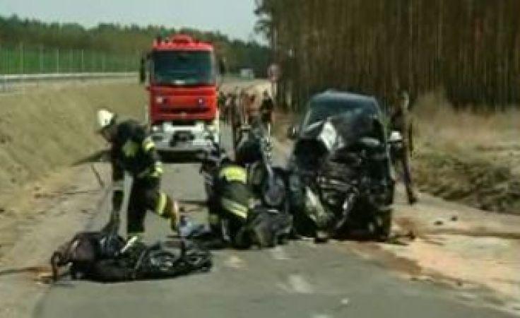 Na miejscu zginęło trzech motocyklistów