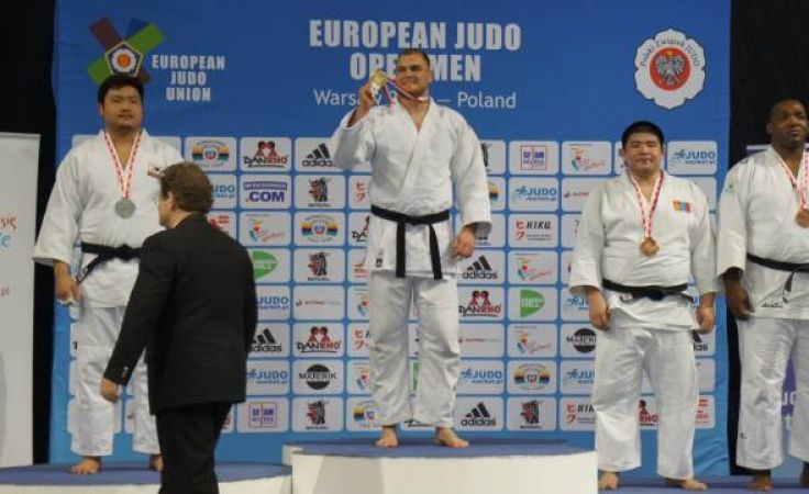 Po zwycięstwie w Pucharze Świata w Warszawie, najlepszy polski judoka liczy na powtórkę sukcesu w  zawodach  w Turcji. (fot. facebook/ Gwardia Olsztyn).