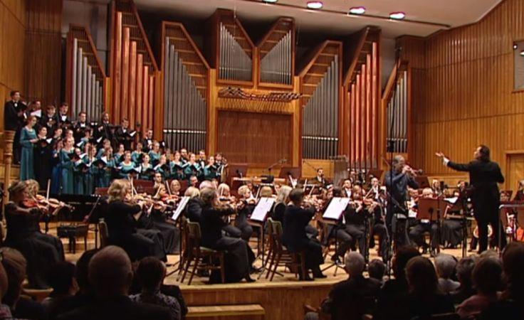 Kompozytor i dyrygent z grodu nad Brdą, dał koncert w Filharmonii