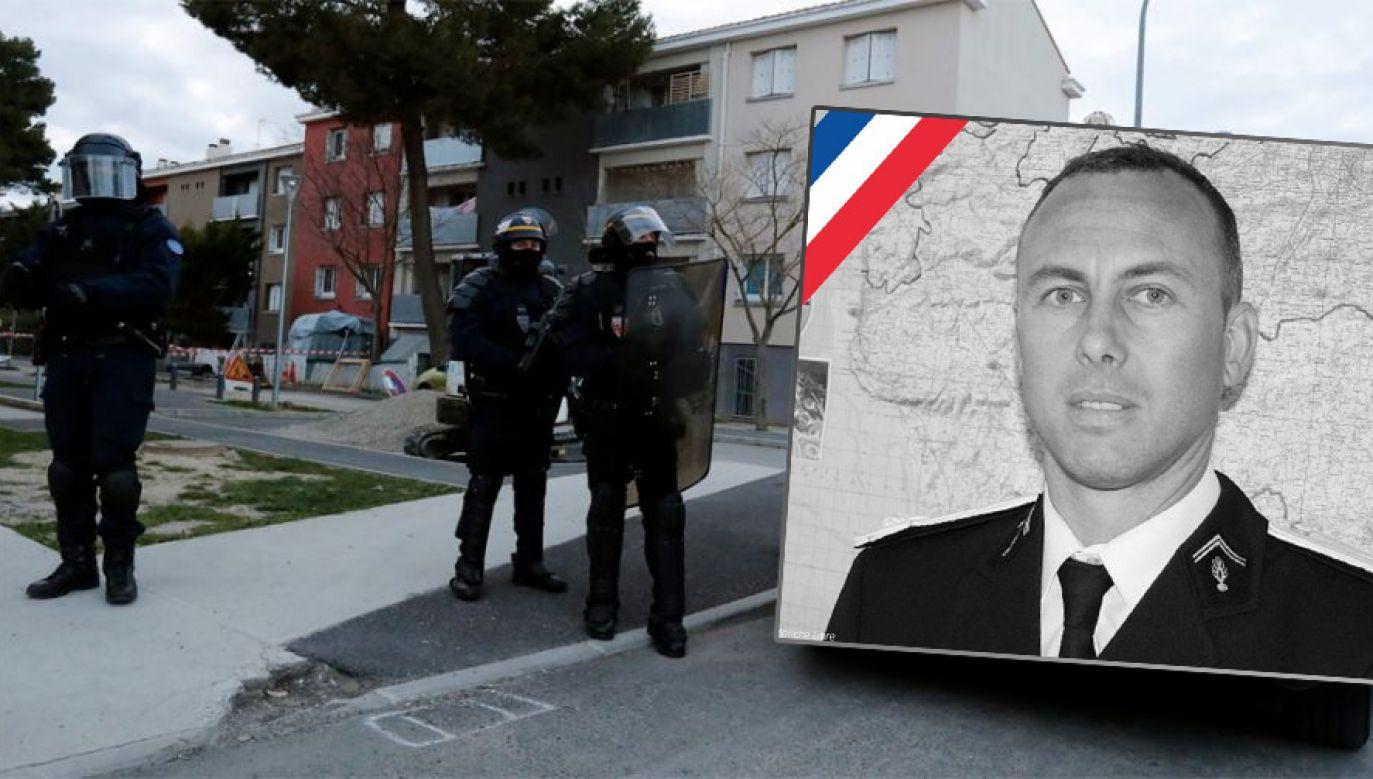 W ciągu ostatnich trzech lat we Francji w zamachach zginęło 240 osób (fot. PAP/EPA/GUILLAUME HORCAJUELO)