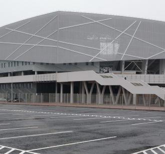 Na lwowskiej arenie swoje mecze rozegra grupa B (fot. PAP/EPA)
