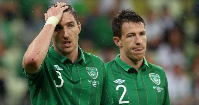 Porażka pozbawiła Irlandię szans na awans do ćwierćfinału (fot. Getty Images)