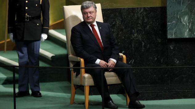 Prezydent Ukrainy wezwał Radę Bezpieczeństwa ONZ od jak najszybszego przysłania do jego kraju sił pokojowych (fot. Drew Angerer/Getty Images)