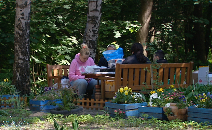 Społecznie odbudowywali miejsce spotkań dzieci i sąsiadów