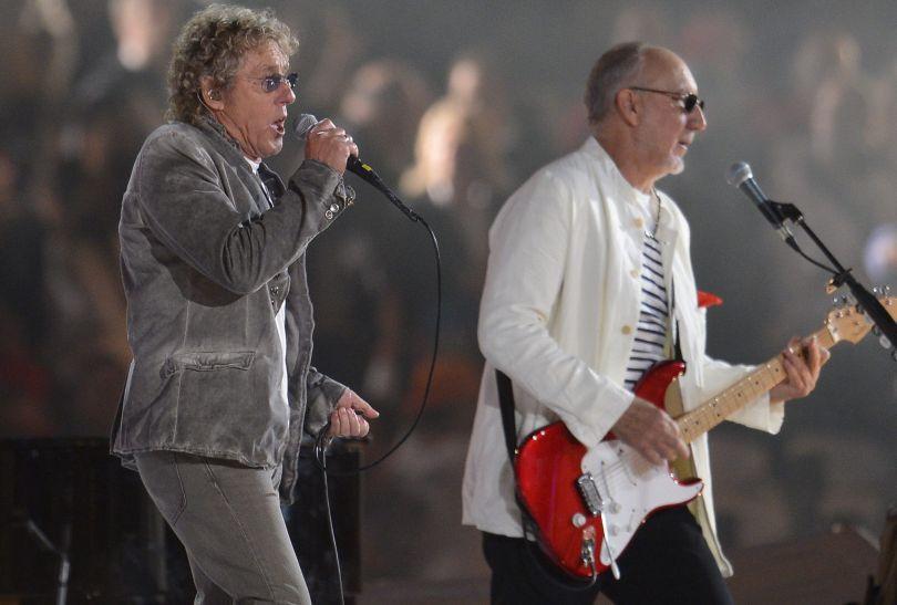 Krótki występ grupy The Who zakończył wielkie widowisko (fot. PAP/EPA)