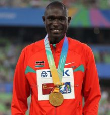 David Lekuta Rudisha (fot. Getty Images)