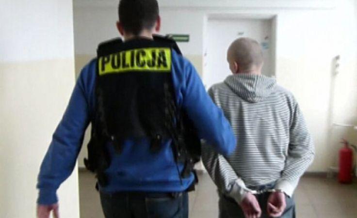Zatrzymanemu multirecydywiście grozi teraz do 15 lat więzienia (fot. KMP Toruń)