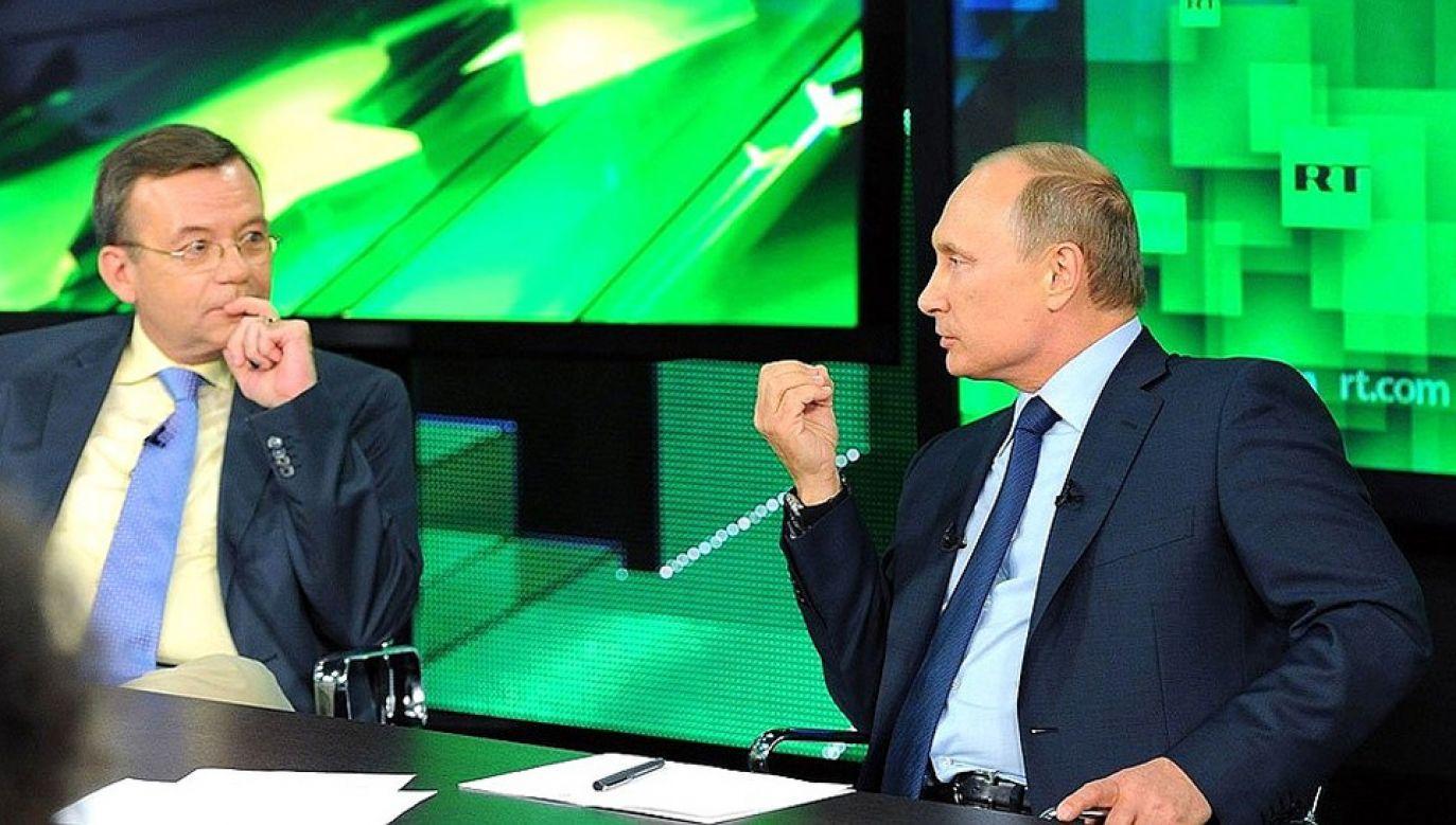 RT twierdzi, że nie jest tubą propagandową Kremla (fot. Kremlin.ru)