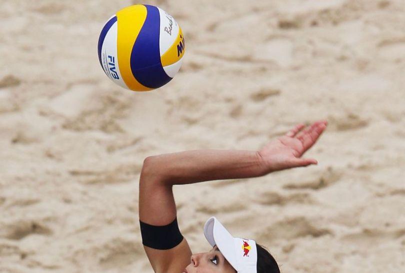 Marta Menegatti jest jedną z najpiękniejszych siatkarek plażowych na świecie (fot. Getty Images)