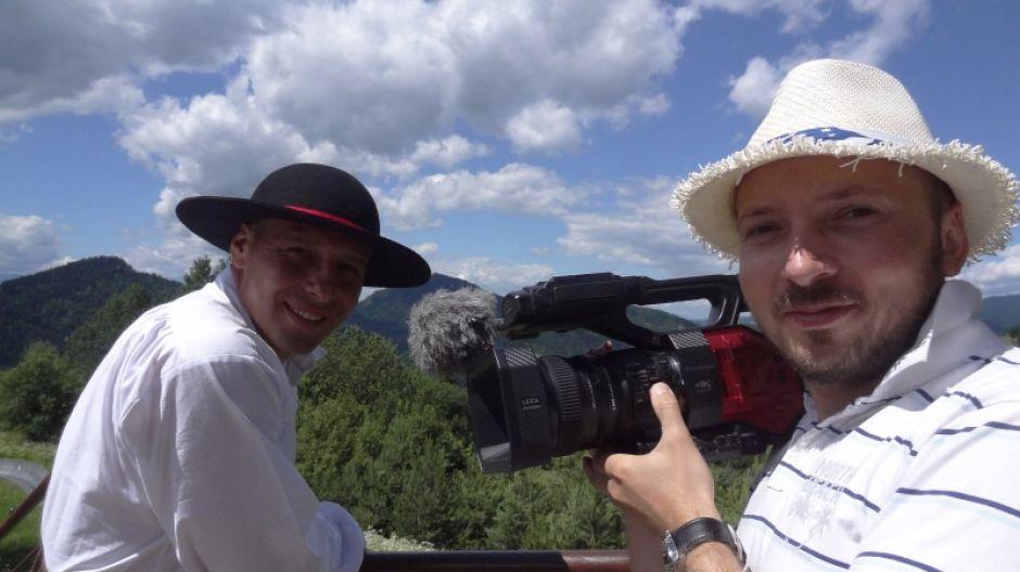 Piotr Jezutek, prowadzący program i Maciej Dźwigaj, autor zdjęć (fot. mmas)