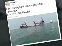 Zderzenie dwóch statków na Morzu Północnym. Jeden poszedł na dno