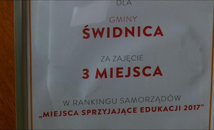 Gmina w czołówce samorządów dbających o edukację