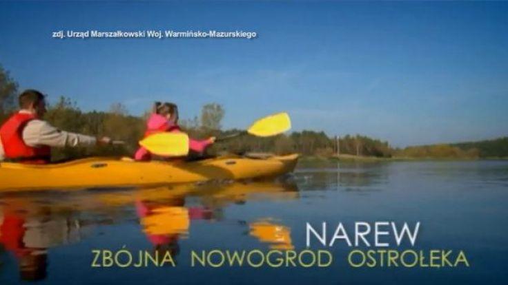 Pisa i Narew tworzą atrakcyjny turystyczny szlak wodny północno-wschodniej Polski