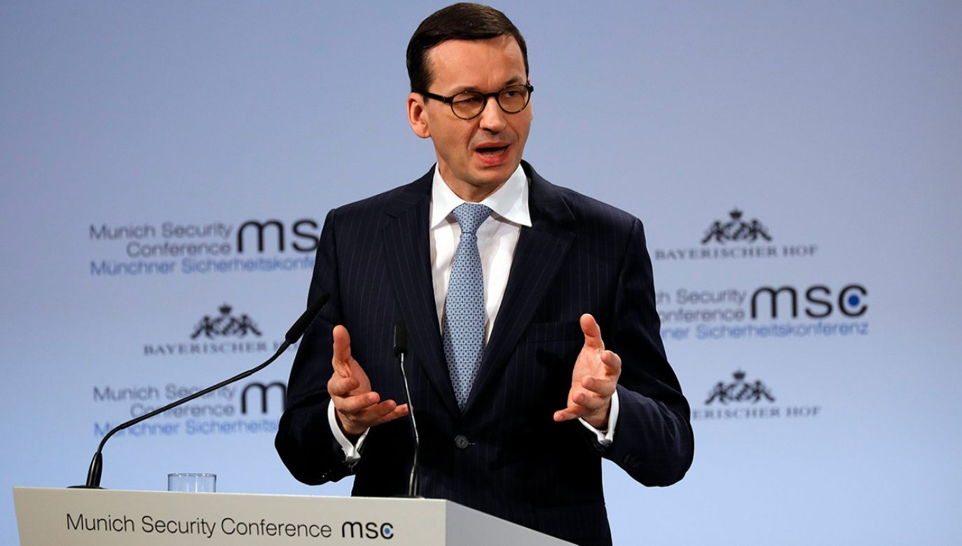 Mateusz Morawiecki (fot. PAP/EPA/RONALD WITTEK)