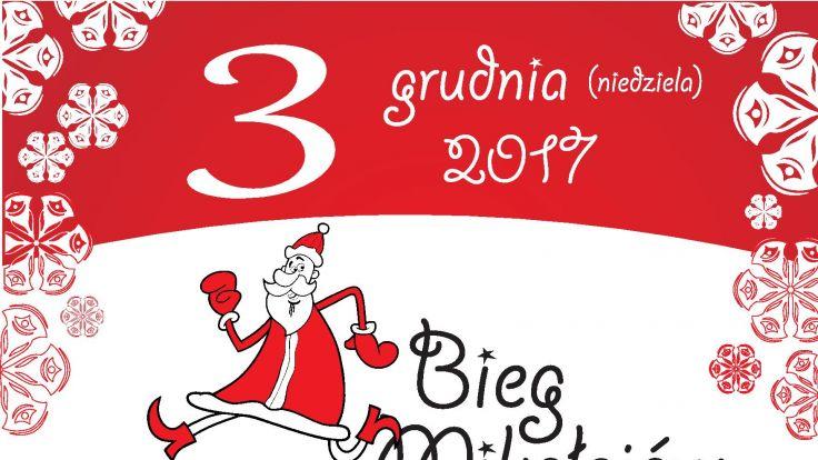 Bieg Mikołajów (plakat organizatora)