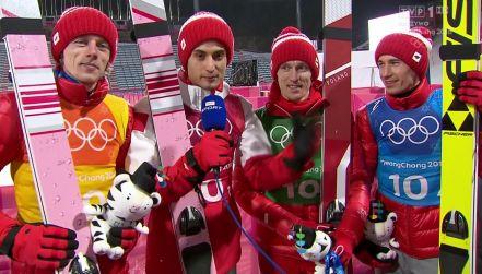 Polska brązowa drużyna: jesteśmy szczęśliwi!