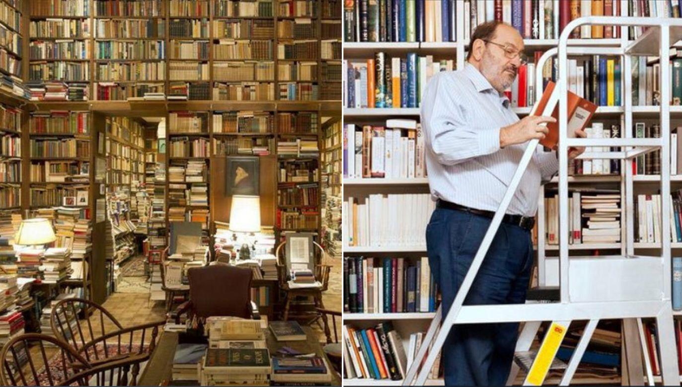 Biblioteka Umberto Eco (fot. tt/@AdilNajam)