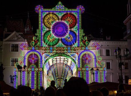Toruń stolicą światła. Bella Skyway Festiwal