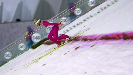 Retro igrzyska: pierwszy skok Stocha na dużej skoczni w Soczi
