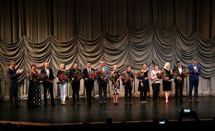 Nagrody Kielc – rozdane! Fot.: Marzena Mąkosa / Radio Kielce