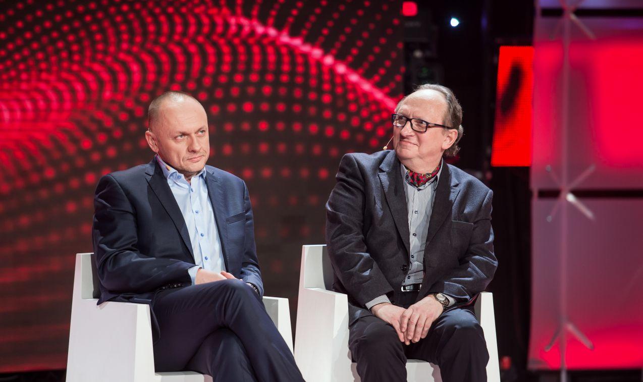 Adam Rozlach i Rafał Porzeziński okazali się bezkonkurencyjni! (fot. J. Bogacz/TVP)