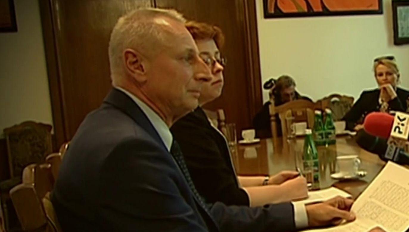 """Ryszard Brejza prezydent Inowrocławia (fot. """"Magazyn śledczy Anity Gargas"""")"""