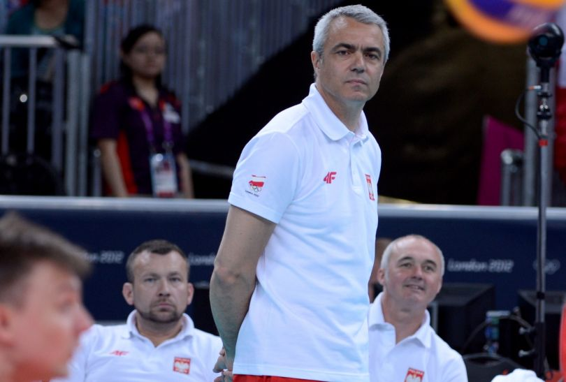 Trener Polaków Andrea Anastasi (fot. PAP/Bartłomiej Zborowski)