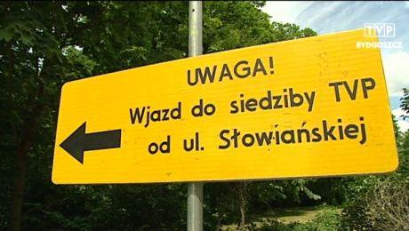 Nowy dojazd do siedziby TVP Bydgoszcz