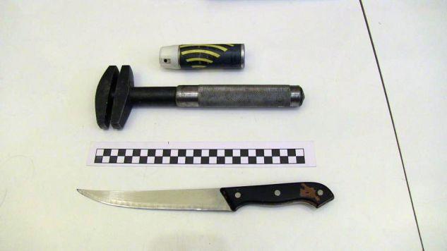 Zebrane dowody pozwoliły na przedstawienie  mężczyźnie zarzutu rozboju z użyciem niebezpiecznego narzędzia (fot. http://malopolska.policja.gov.pl)