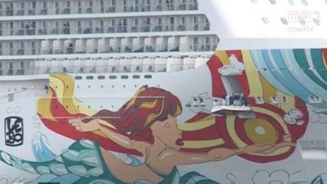 Wycieczkowiec gigant zacumował w Gdyni