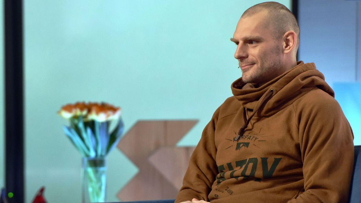 Antropolog Aleksander Robotycki. (fot. Ireneusz Sobieszczuk/ TVP)