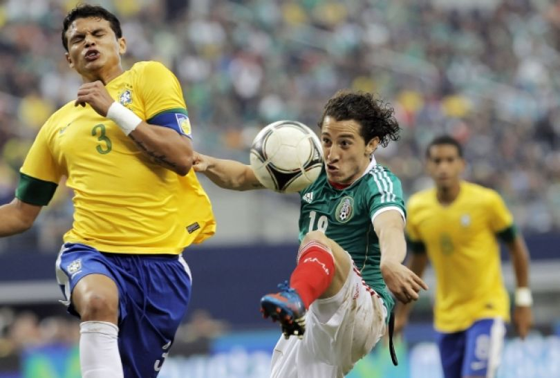 Z lewej Thiago Silva (fot. Getty Images)