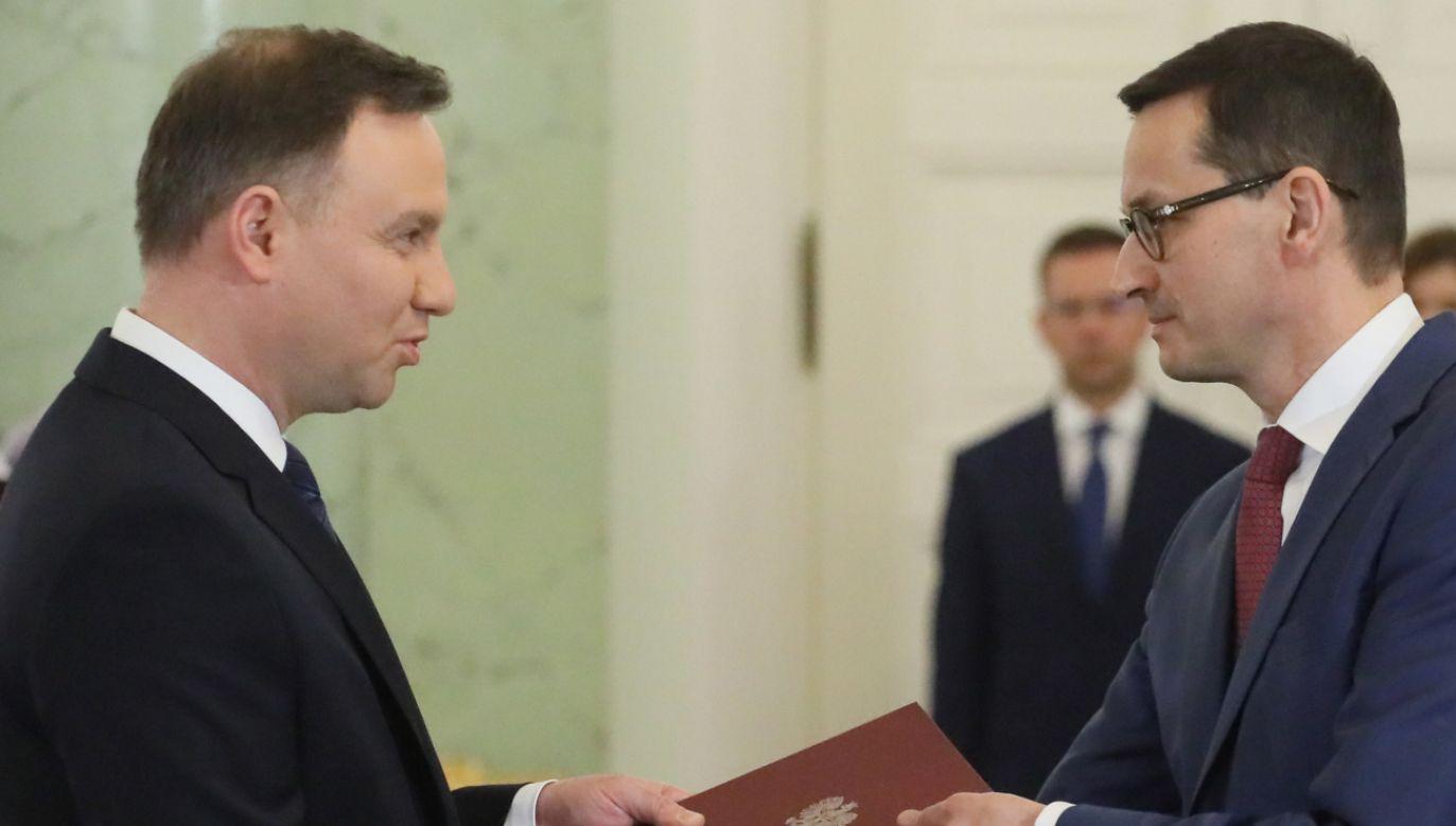 Zgodnie z konstytucją prezydent powołuje premiera wraz z pozostałymi członkami rządu w ciągu 14 dni od przyjęcia dymisji poprzedniego gabinetu (fot. PAP/Paweł Supernak)