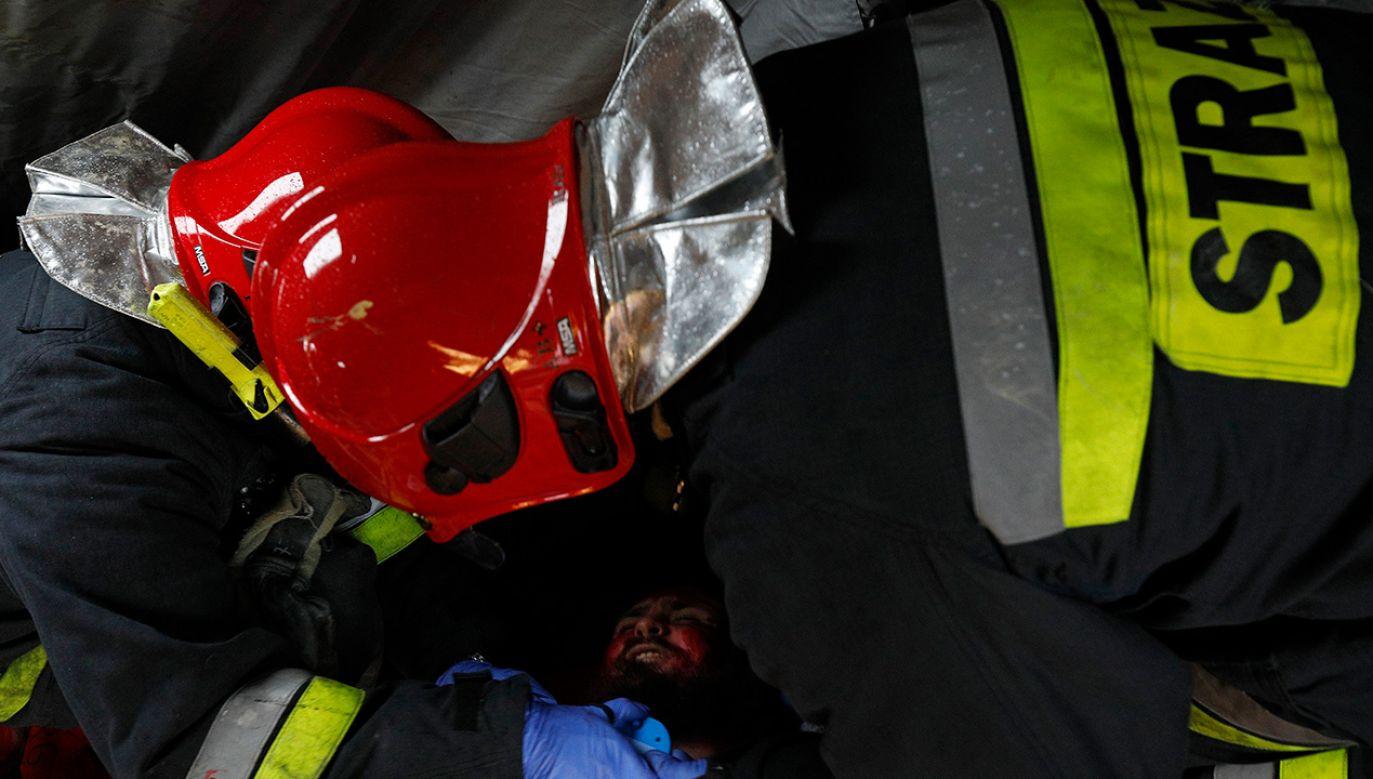 W pożarze zginęła jedna osoba (fot. arch.PAP/Artur Reszko)
