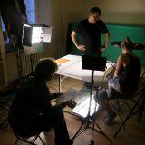 Supełek powstaje nie w wielkim studiu, a w kameralnym pokoju (fot. Paweł Wróbel)