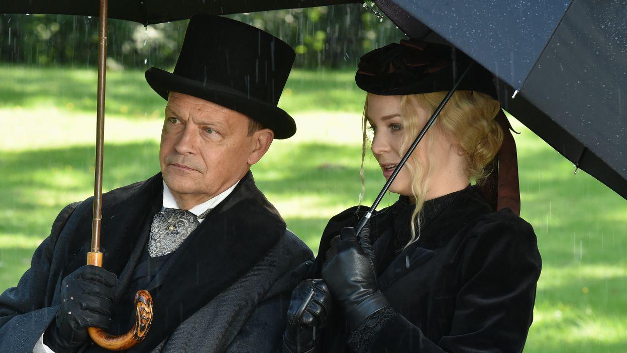 Jan Frycz zagrał rolę Profesora (fot. Ireneusz Sobieszczuk/TVP)