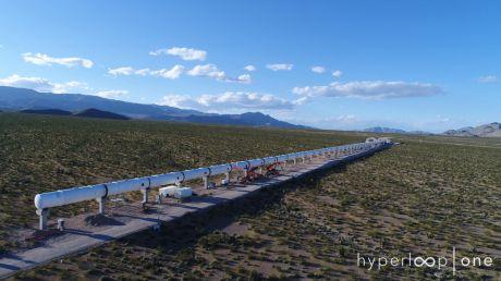 Testy nowej technologii w USA (fot. Hyperloop One)