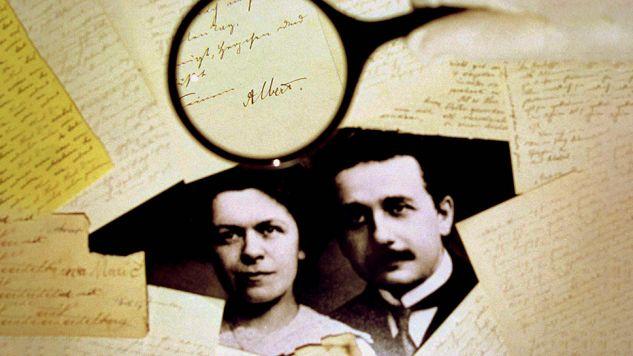 Mileva i Albert Einsteinowie mieli wspólnie opracować przełomową teorię względności (fot. Reuters/Ian Waldie)
