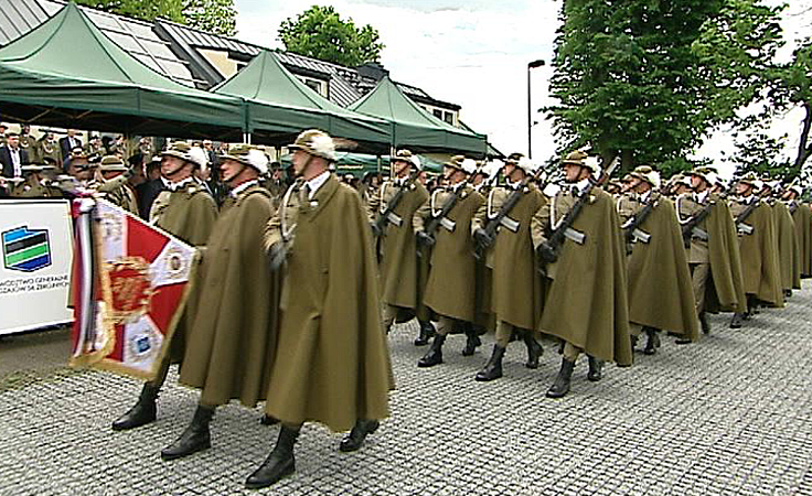 Rocznica utworzenia 21. Brygady Strzelców Podhalańskich