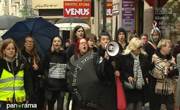 Czarne protesty na Pomorzu
