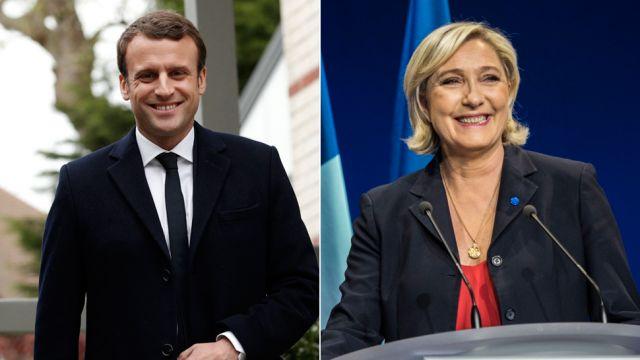 MSW podało oficjalne wyniki: Macron i Le Pen w II turze