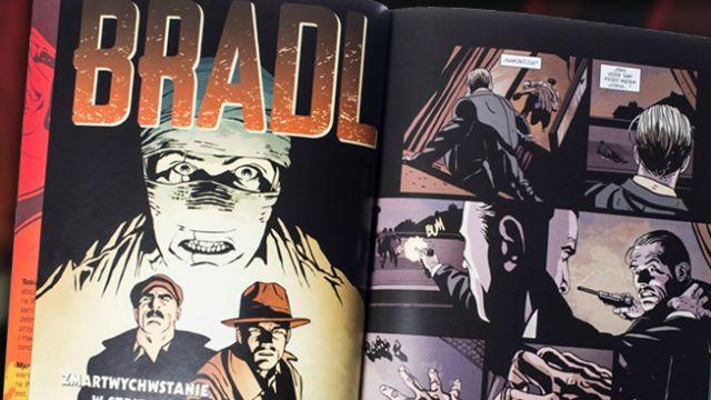 """""""Bradl"""" – nowy komiks o życiu asa wywiadu"""