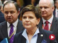 Premier Szydło: następuje zmiana w polityce migracyjnej UE