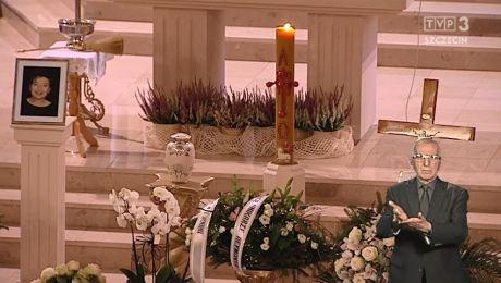 Uroczystość pogrzebowa śp. Marii Bartczak (dla osób niesłyszących)